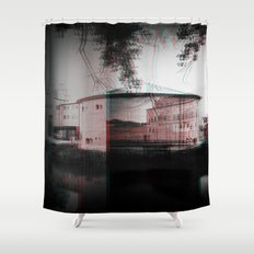 by the shore Shower Curtain