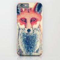 iPhone & iPod Case featuring Mr Fawx by katieellen