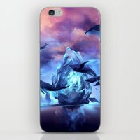 When the moon is closer iPhone & iPod Skin