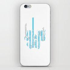 Stripe Scull iPhone & iPod Skin