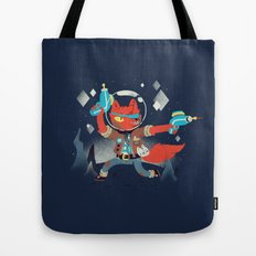 Bounty Hunter Space Cat Killa Tote Bag