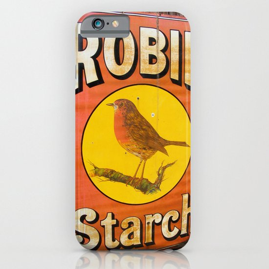 Robin Starch iPhone & iPod Case