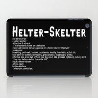 Helter Skelter (white On… iPad Case