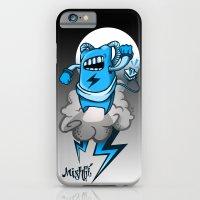 StormBot - Blue Robot iPhone 6 Slim Case