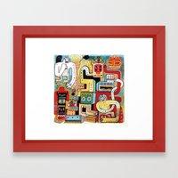 La Foire Aux Esprits  Framed Art Print