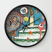 I Love Cake!  Wall Clock