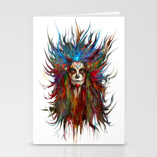 Memento Mori Stationery Card