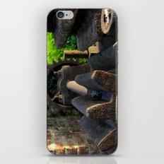 old rusty gear iPhone & iPod Skin