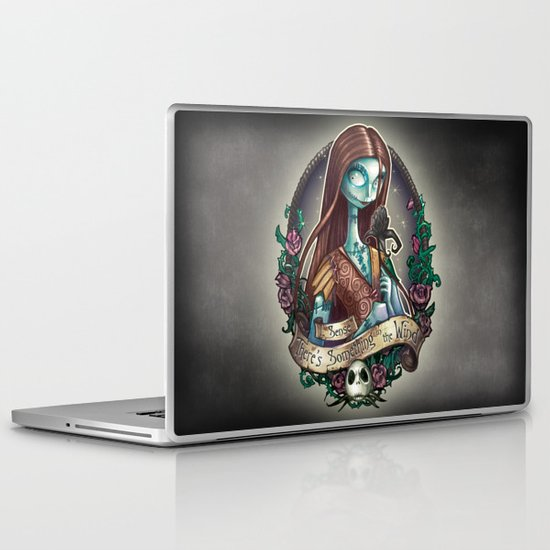 """Something In the Wind"" Laptop & iPad Skin"
