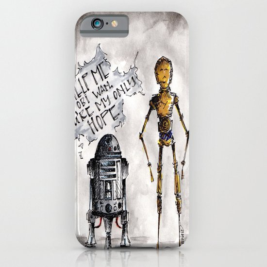You're My Only Hope iPhone & iPod Case