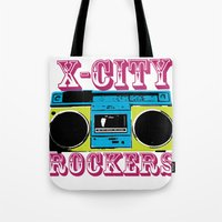 X-CITY ROCKERS Tote Bag
