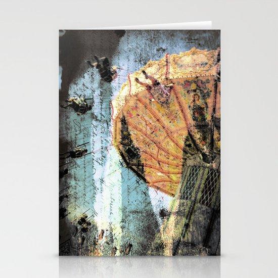 """Carnivale"" Stationery Card"