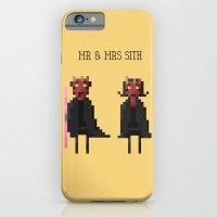 Mr & Mrs Sith iPhone 6 Slim Case