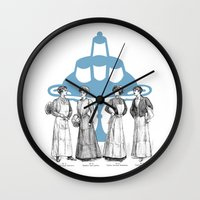 old fashioned cooking Wall Clock