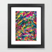 Wild Abstract Framed Art Print