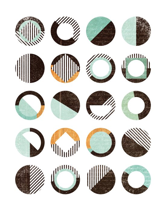 POINTS OF CONTACT Art Print
