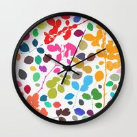 Wildrose 2 Wall Clock