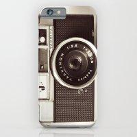 camera iPhone & iPod Cases featuring Camera by Tuky Waingan