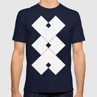 Contact Mens Fitted Tee Navy SMALL