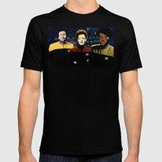 IT Trek Mens Fitted Tee SMALL Black