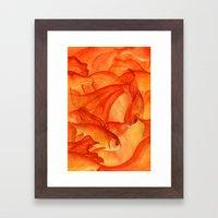 Goldrush Framed Art Print