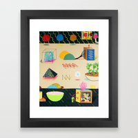 Playground Framed Art Print