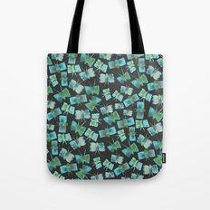 Moody Blue Butterflies Tote Bag