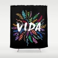 Vida Shower Curtain