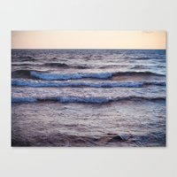the sound of the sea Canvas Print