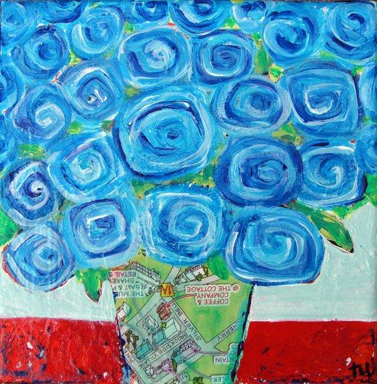 I'm Feeling Blue Art Print