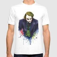 Joker Mens Fitted Tee White SMALL