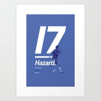Hazard Chelsea 17 Art Print