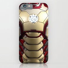 iron/man mark XLII restyled for samsung s4 iPhone 6 Slim Case