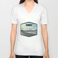 Roadtrip in norway Unisex V-Neck