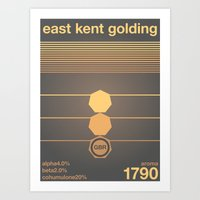East Kent Golding Single… Art Print