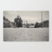 The Equilibrist Canvas Print