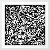 Detached Retina Art Print