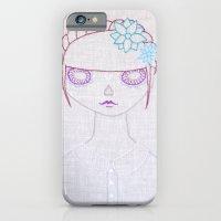 Dia de los Muertos Embroidery iPhone 6 Slim Case