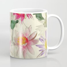 Lotus Flower Pattern Mug