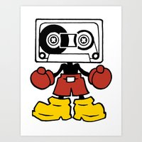 Mix-Tape Art Print
