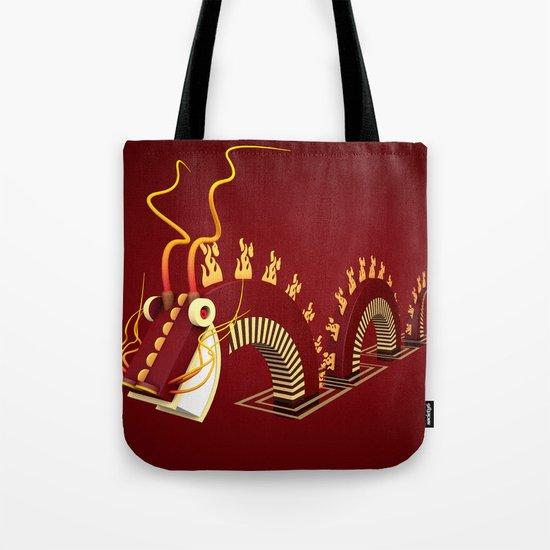 Dragon - Fire Tote Bag