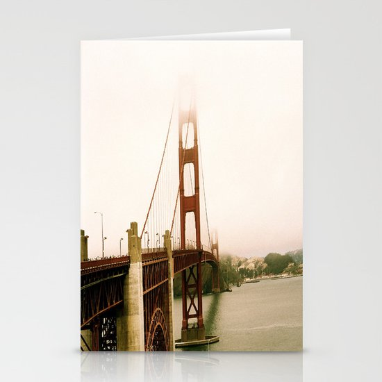GG Bridge San Francisco Stationery Card