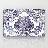Blueberry Damask iPad Case
