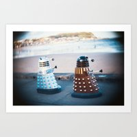 Daleks Art Print