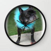Diva Dog Wall Clock