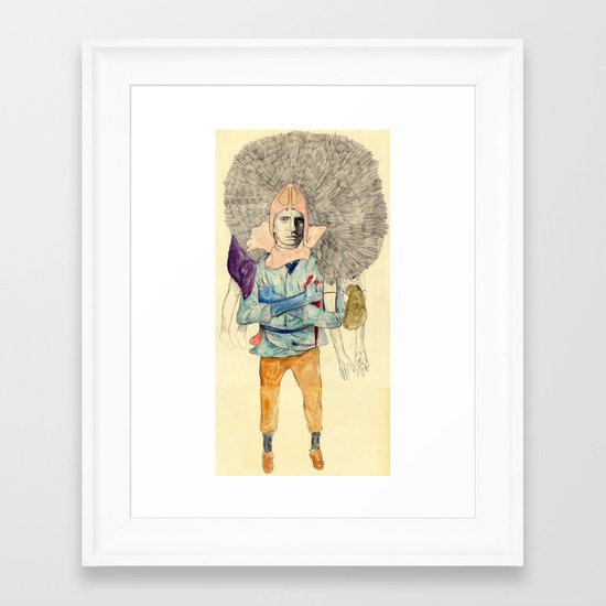Ashitaka Framed Art Print