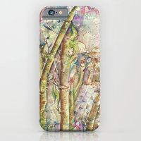 iPhone & iPod Case featuring Bamboo Spirits by CrismanArt