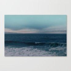Blue California Ocean Canvas Print