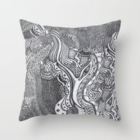 Ultima Orden II Throw Pillow