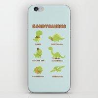 DANDYSAURUS iPhone & iPod Skin